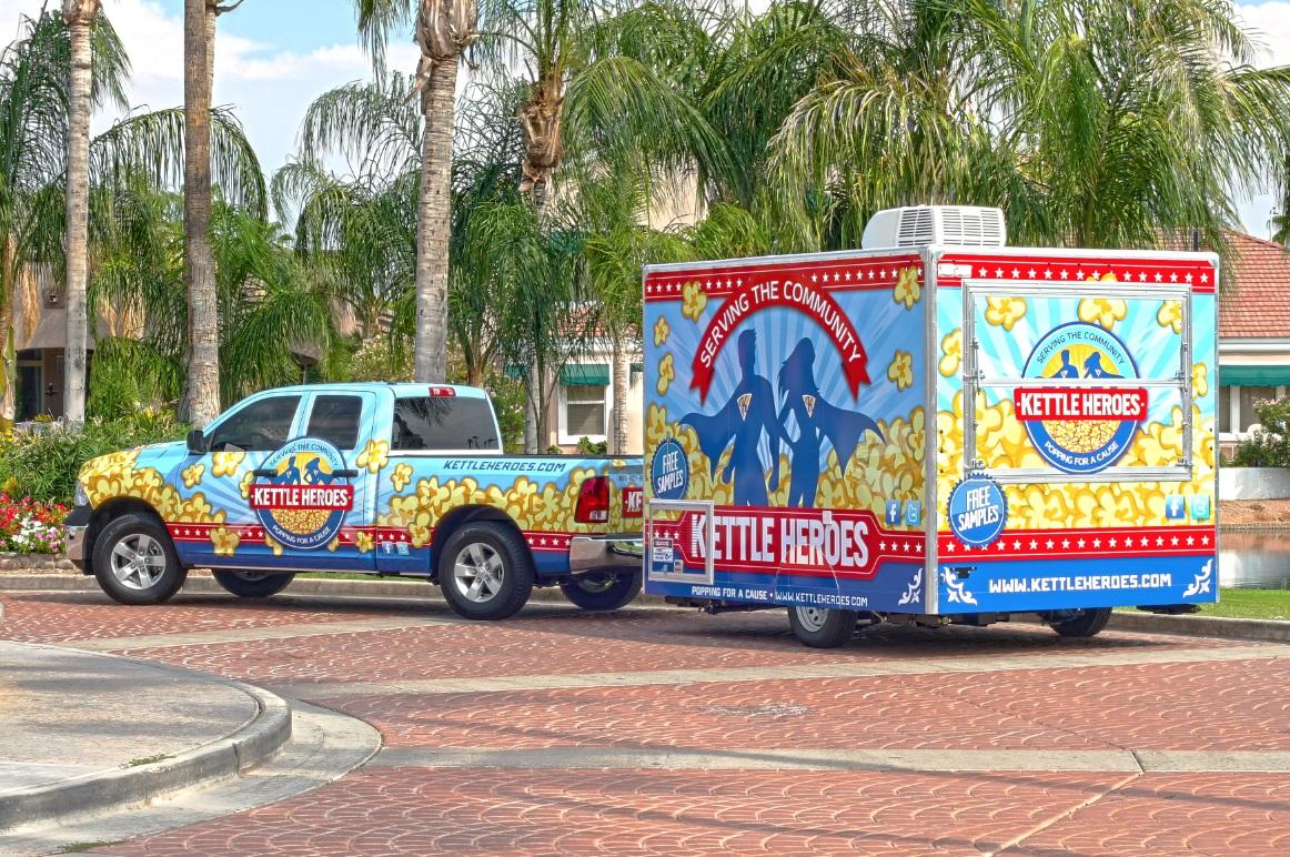 Kettle Heroes Truck & Trailer